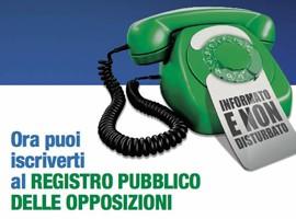 DIFENDETI DAL TELEMARKETING: ISCRIVITI AL REGISTRO DELLE OPPOSIZIONI